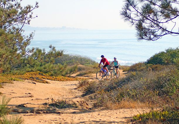 Biking in Torrey Pines