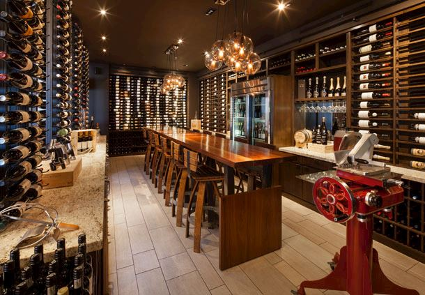 Marina Kitchen Restaurant & Bar - Wine Room