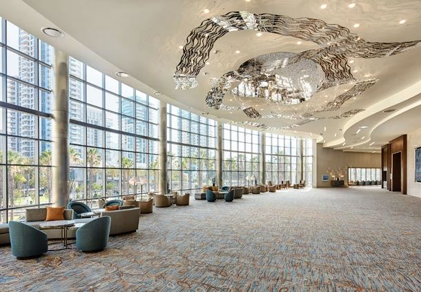 Marriott Grand Foyer