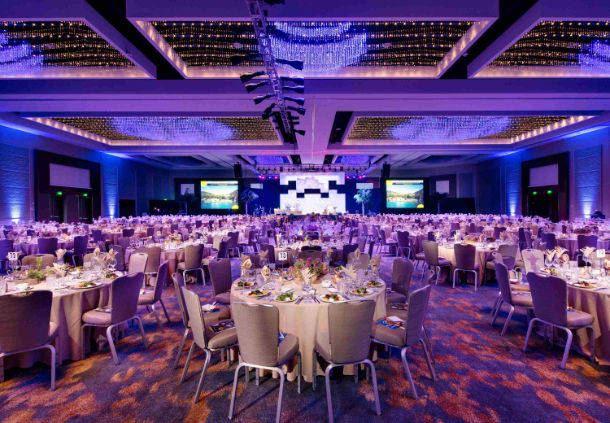 Marriott Grand Ballroom - Banquet