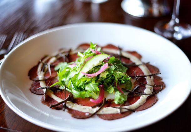 Broken Arrow Ranch Venison Carpaccio