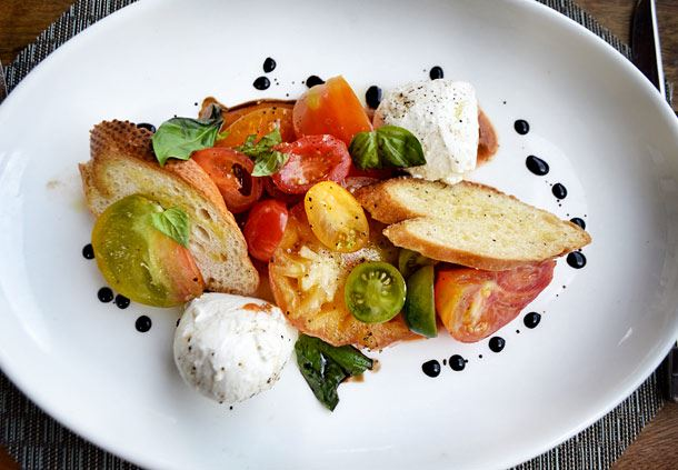 Heirloom Tomato & Burrata Salad