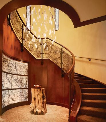 Lantana Spa Staircase