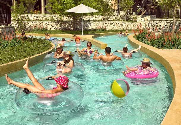 San Antonio Water Park Jw Marriott San Antonio Hill