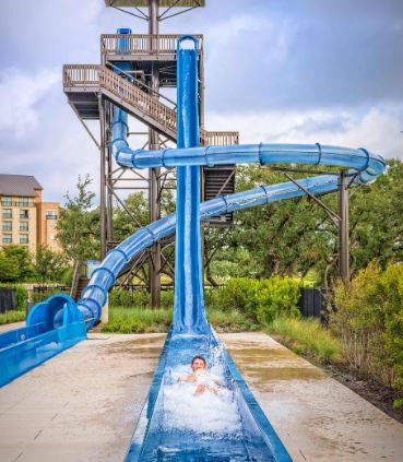 Hill Country Plunge Water Slide