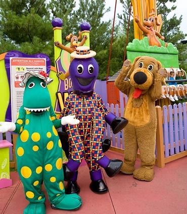 Six Flags Fiesta Texas Wiggles Ride
