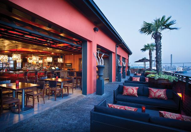 Rocks on the Roof - Outdoor Seating
