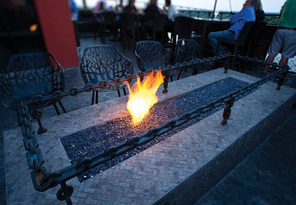 Rocks on the Roof - Fire Pit