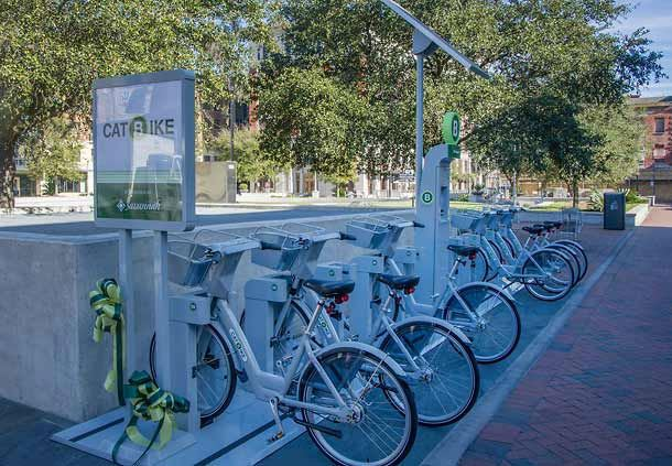 Ellis Square CAT Bike Share