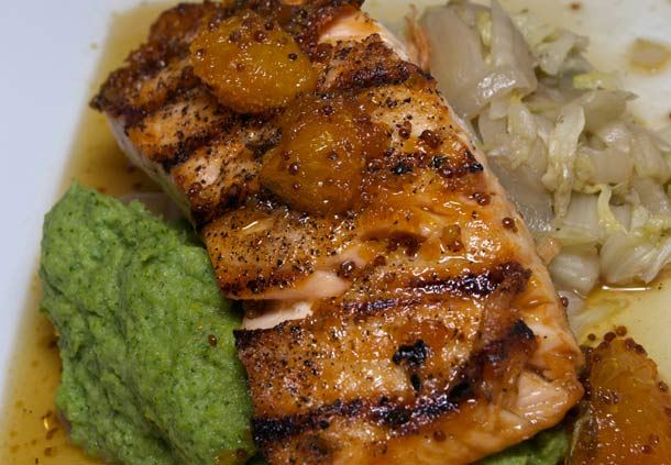 Charr'd Salmon