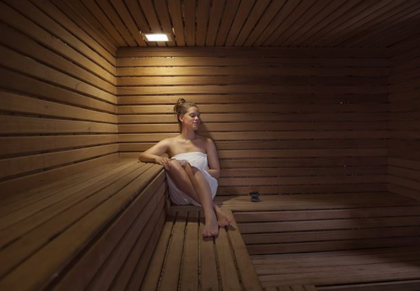 Renew yourself at our Sauna