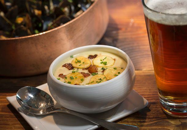 Hook & Plow Award-Winning Clam Chowder