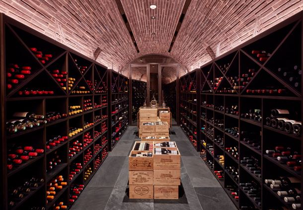 The Margaux Grill - Wine Cellar