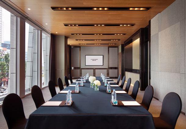 Hanyang 3+4 - Boardroom Setup