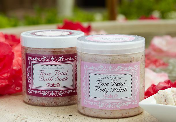 Rose Petal Signature Spa Products
