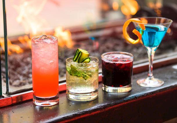 Fire Pit Cocktails