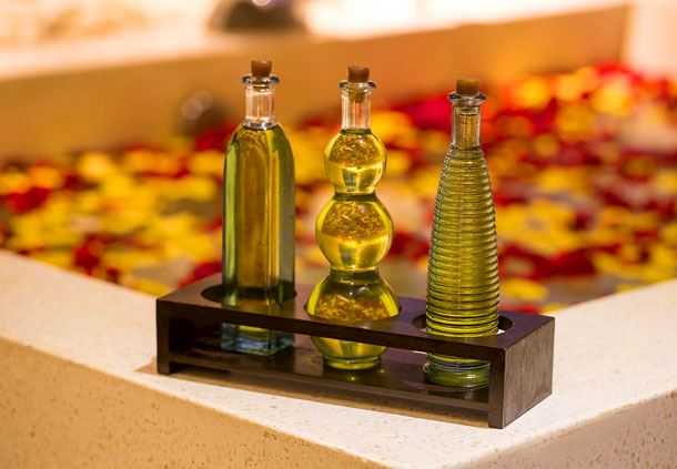 Aqua Day Spa Amenities