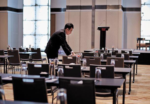 Meetings at the Grand Ballroom