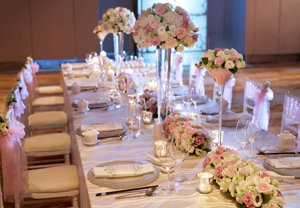 Enchanting Eden Table Setting