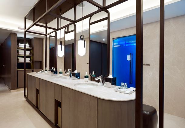 Spa by JW, Changing Room