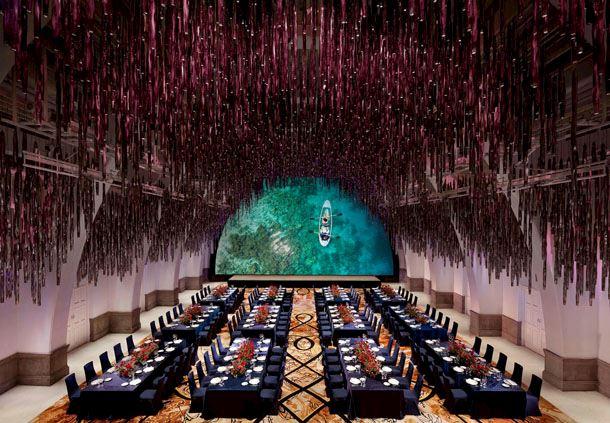 Grand Ballroom - Long Tables Wedding