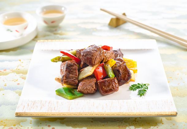 Sauteed Diced Beef Fillet