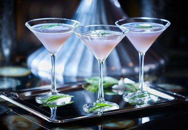 Tanq- Lavender Martini