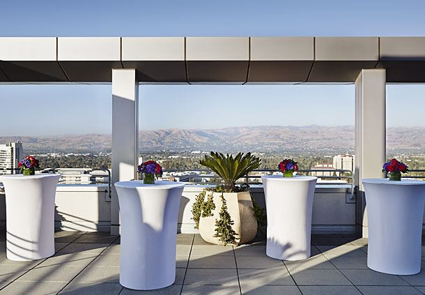 Concierge Rooftop Terrace - Reception Setup