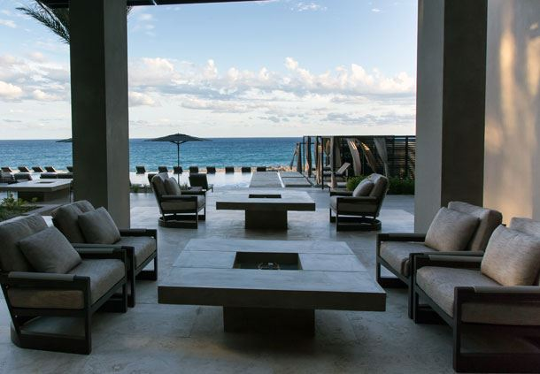 Mayma Bar Seating Area - Outdoor
