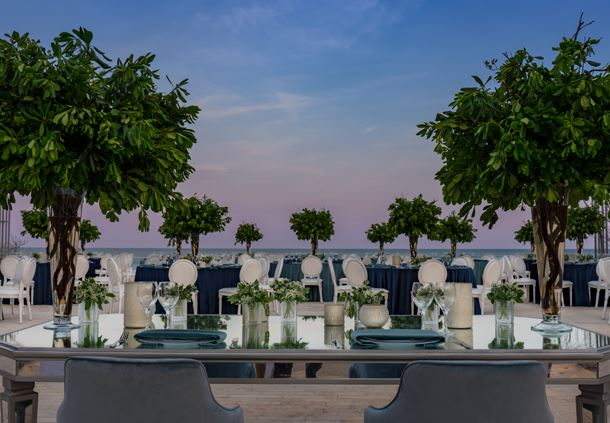 Exterior Terrace - Wedding