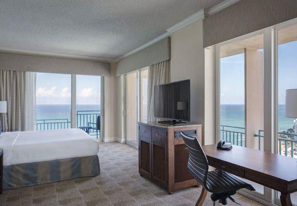 King Corner Guest Room - Oceanfront View