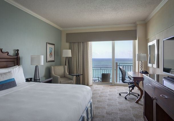 King Guest Room - Oceanfront View