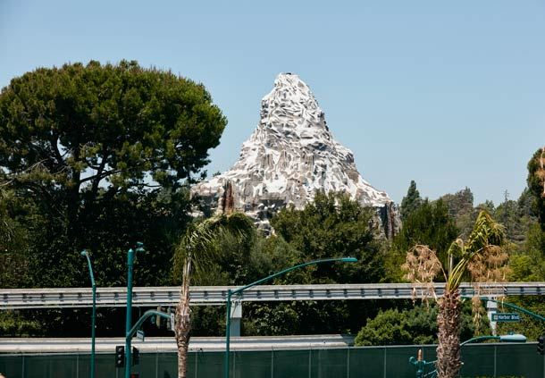 View of Disney's Matterhorn