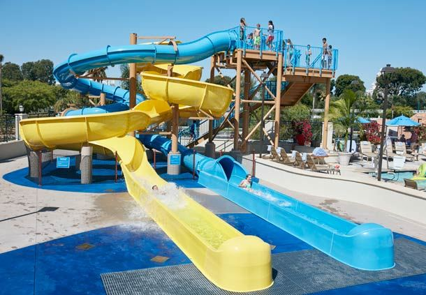 Surfside Waterpark Slides
