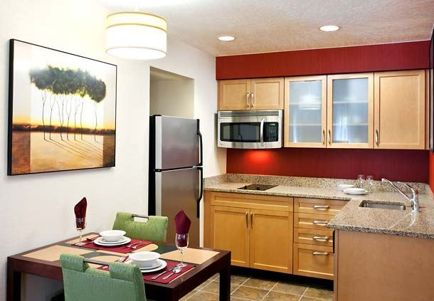 Studio and One-Bedroom Suite Kitchen