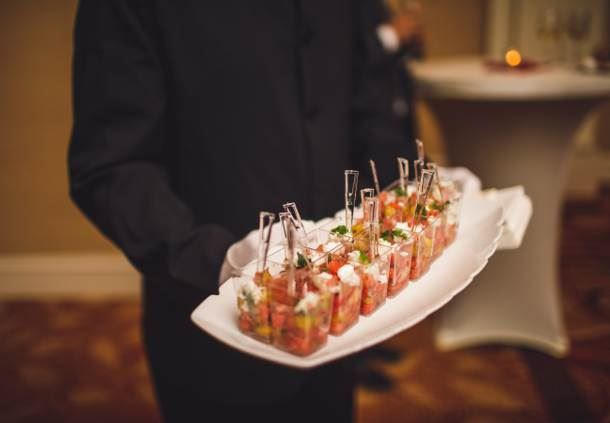 Wedding Catering - Passed Hors d'Oeuvres