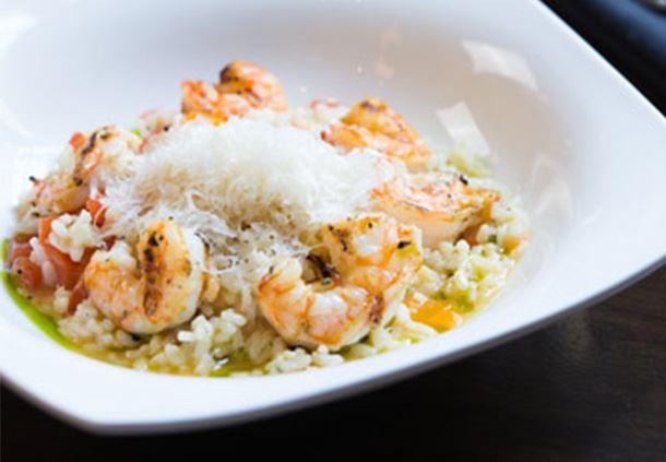 Grilled Gulf Shrimp Risotto