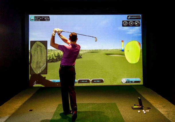 Hanbury Manor Country Club Golf Simulator