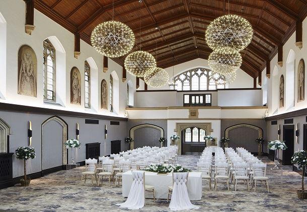 Poles Hall - Banquet Setup