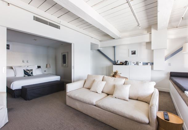 Walsh Bay Suite - Living Area