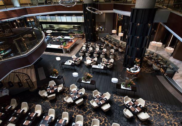 Silvester's Restaurant Aerial
