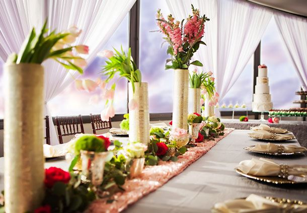 The View - Wedding Reception Details