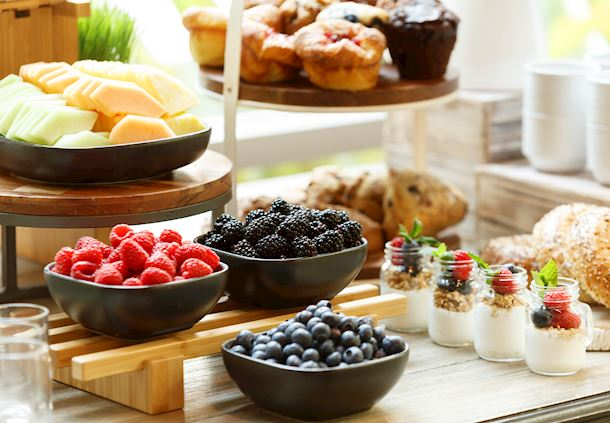 Coffee Break - Breads, Fruit & Smoothies