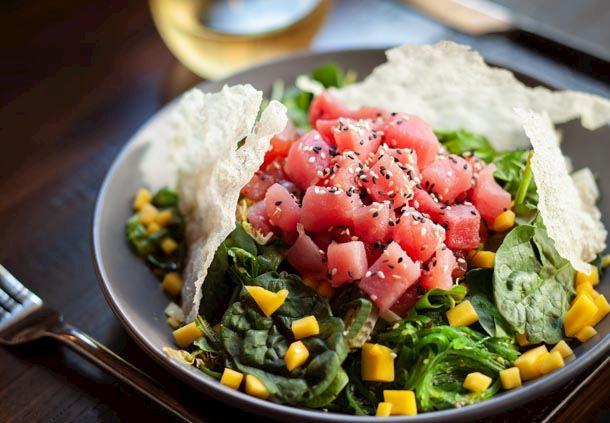 Garrison Tavern - Tuna Poke Salad