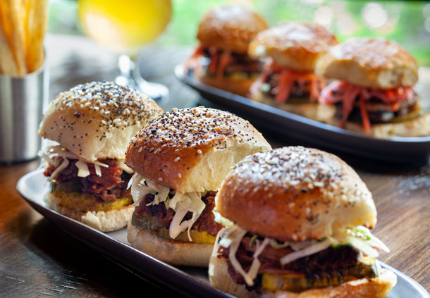 Garrison Tavern - Smoked Brisket Sliders