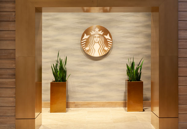 Headline- Starbuck's® - Entrance