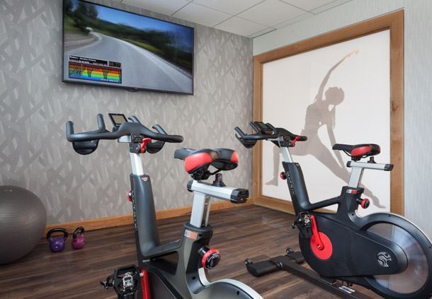 Fitness Center - Spinning Bikes