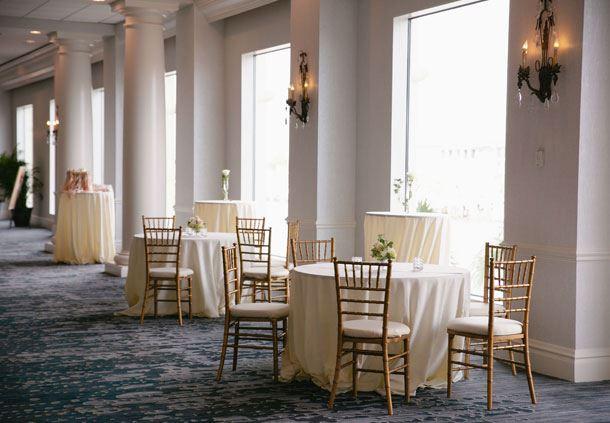 Grand Ballroom Foyer - Cocktail Reception Setup