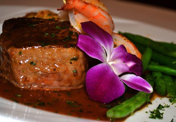 Steak & Shrimp Plate