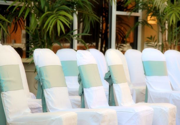 Poolside Ceremony Space